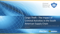Cargo Theft – the impact of criminal activities in the South American Supply Chain – English