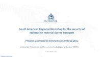 Preventing and Combatting Terrorism in Latin America – Spanish