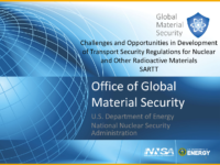 Challenges and Opportunities Development of Transport Security Regulations (English)