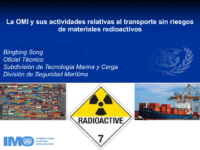 IMO and its activity on the safe transport of radioactive materials_Spanish