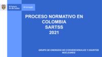 PROCESO NORMATIVO EN COLOMBIA