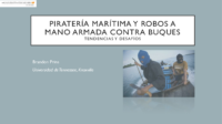 Prins- Maritime Piracy and Armed Robbery on Ships (Spanish)